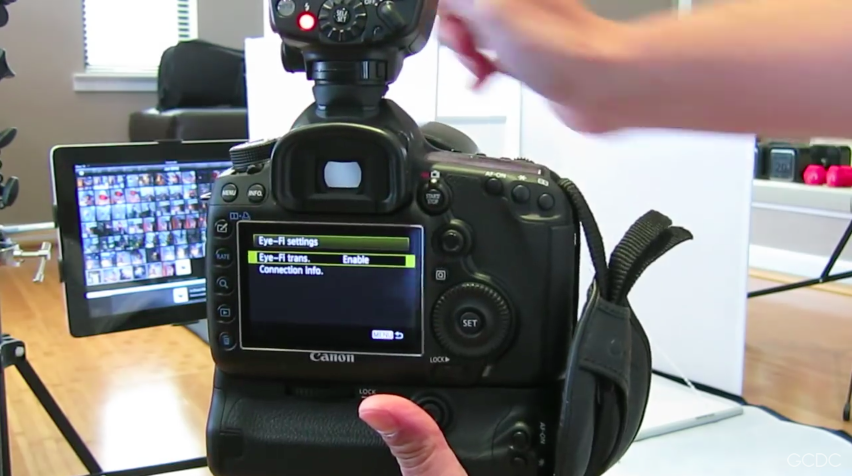 Canon 5DMKIII EyeFi Setting